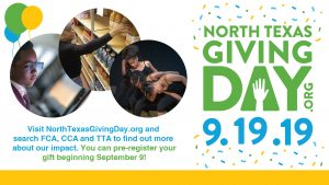 North Texas Giving Day - September 19, 2019