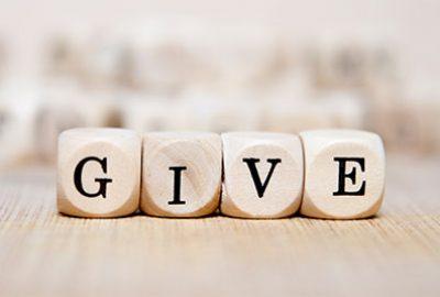 Ways to Give Menu